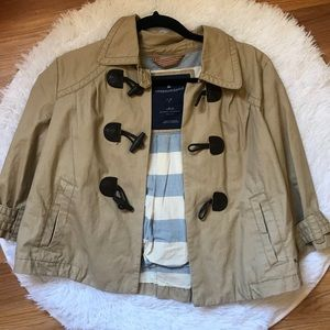 Tan blazer American eagle